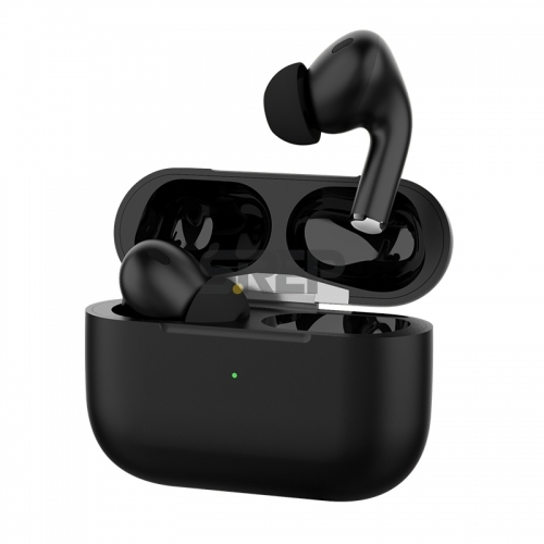 TWS & ANC Bluetooth Earbud In-Ear with Wireless Charger Case AiMuz Pro Black