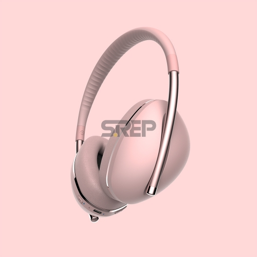 TWS & ANC Fashion Bluetooth Headphone AiMuz HP F1 Pink