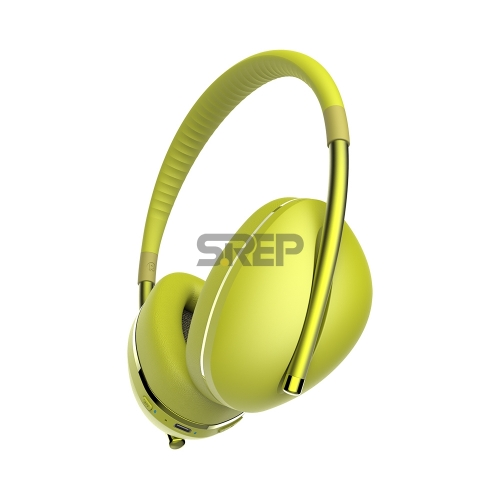 TWS & ANC Fashion Bluetooth Headphone AiMuz HP F1 Yellow