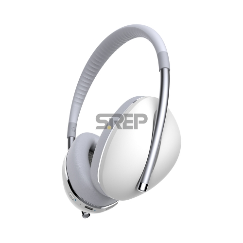 TWS & ANC Fashion Bluetooth Headphone AiMuz HP F1 Silver