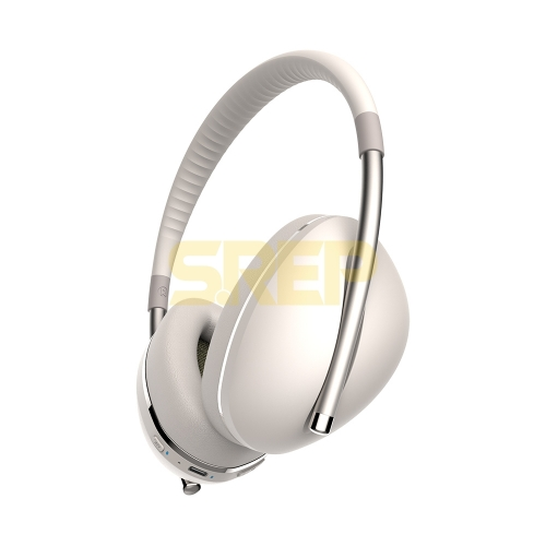 TWS & ANC Fashion Bluetooth Headphone AiMuz HP F1 Champagne